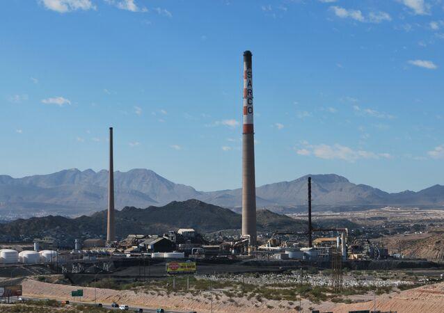 Empresa minera Grupo México