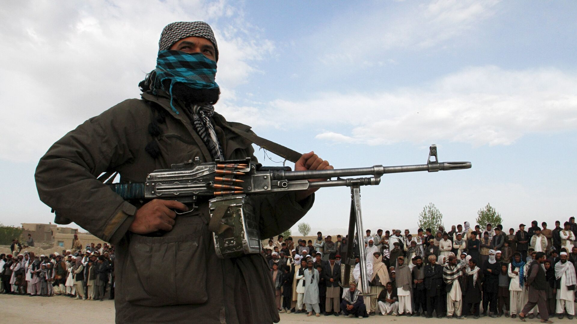 Miembro del movimiento Talibán (archivo) - Sputnik Mundo, 1920, 23.08.2021