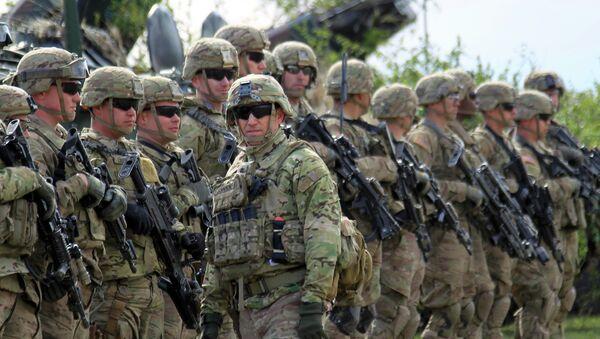 Maniobras militares Jade Helm 15 de EEUU siguen agitando Twitter - Sputnik Mundo
