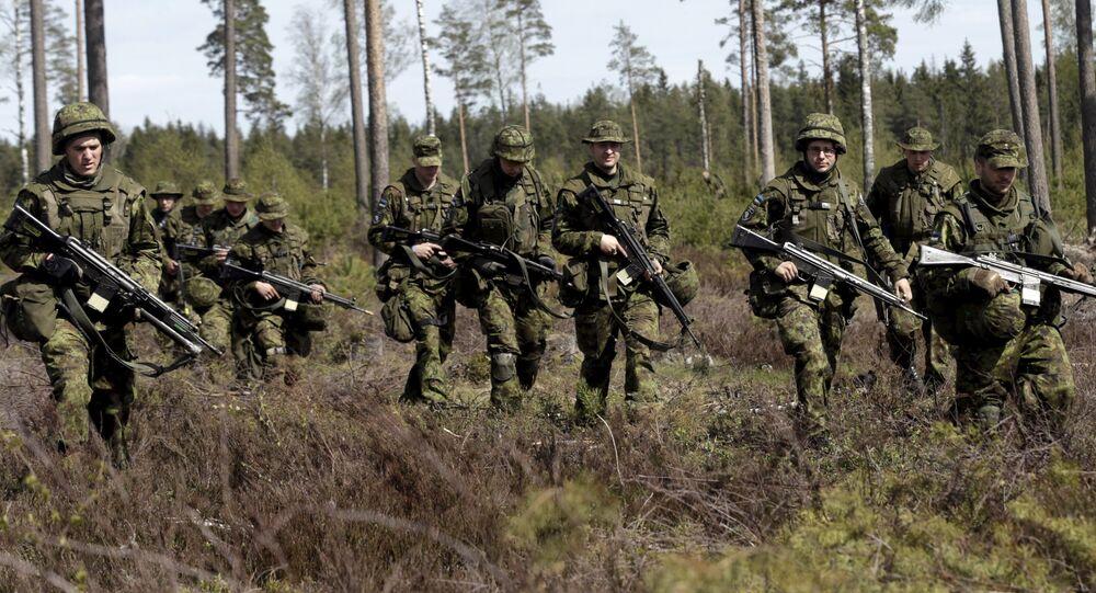 Maniobras de la OTAN Siil 2015 en Estonia