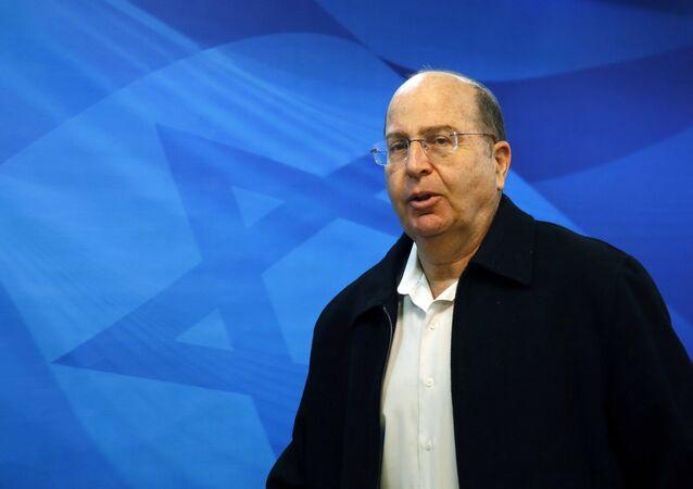 Moshe Yaalon, ministro de Defensa de Israel