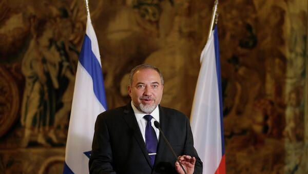 Avigdor Lieberman, líder del partido Israel, Nuestra Casa - Sputnik Mundo
