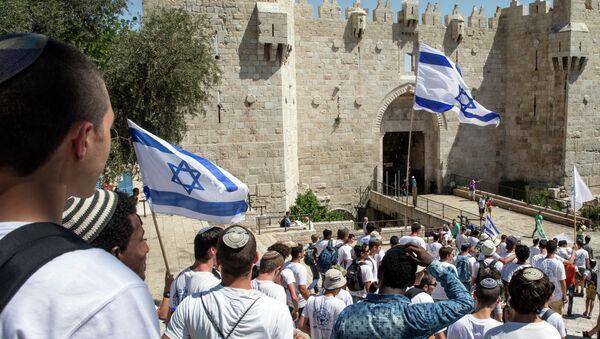 Marcha con motivo del Día de Jerusalén - Sputnik Mundo