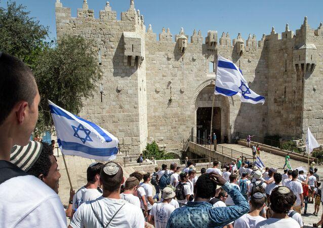 Marcha con motivo del Día de Jerusalén
