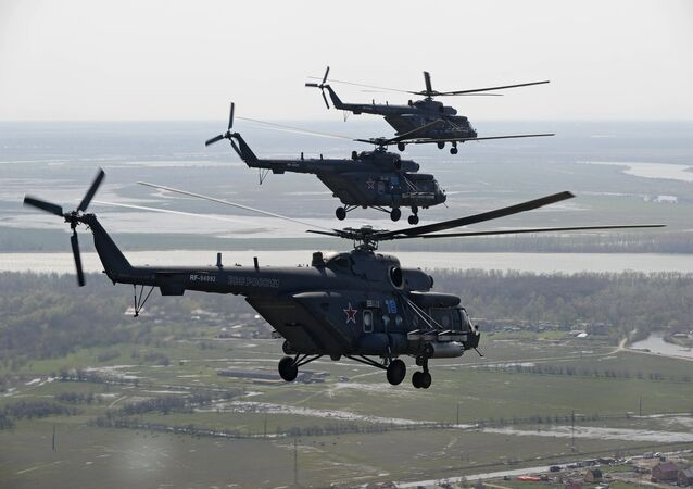 Helicópteros de transporte y combate Mi-8AMTSh (Mi-171Sh)