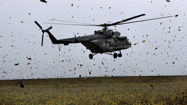 Вертолет Ми-8 АМТШ - Sputnik Mundo