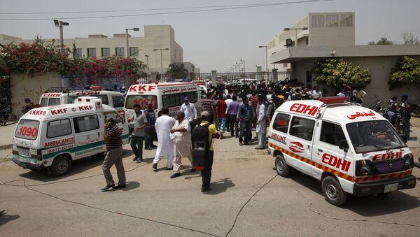 Atacado un autobús en la ciudad de Karachi (Archivo) - Sputnik Mundo