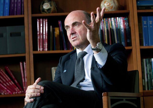 Luis de Guindos, exministro de Economía de España (archivo)