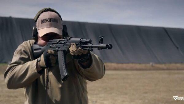 Kalashnikov en cámara lenta - Sputnik Mundo