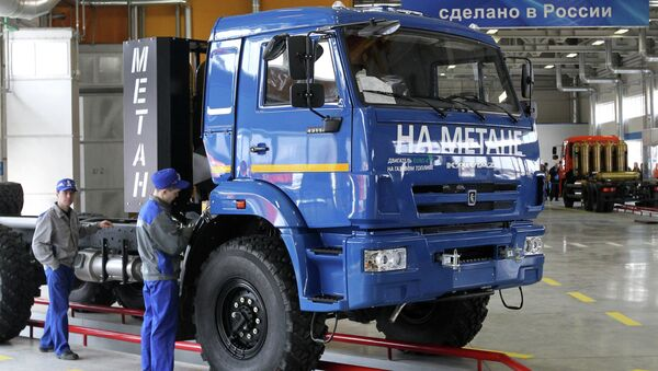 Camion Kamaz - Sputnik Mundo