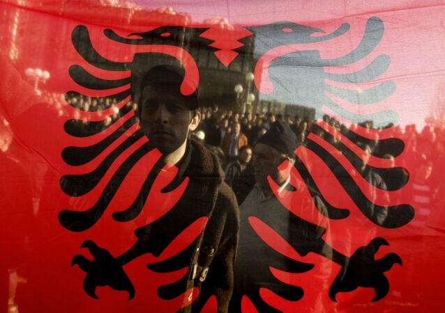Bandera de Albania
