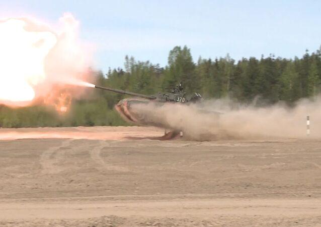 Tanque volador T-80