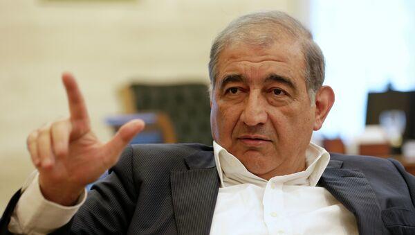 Qadri Jamil, miembro del Frente Popular por el Cambio y la Liberación y secretario del partido Voluntad Popular, - Sputnik Mundo
