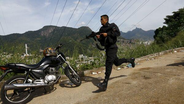 Policía de Brasil (archivo) - Sputnik Mundo