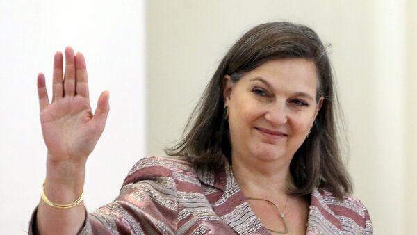 Victoria Nuland, subsecretaria de Estado de EEUU para Europa y Eurasia - Sputnik Mundo