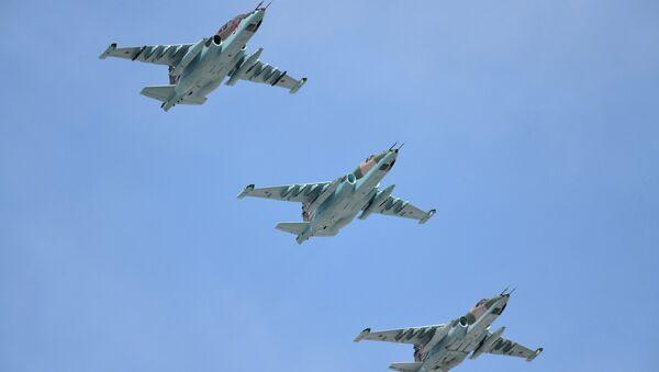 Aviones de asalto Su-25SM - Sputnik Mundo