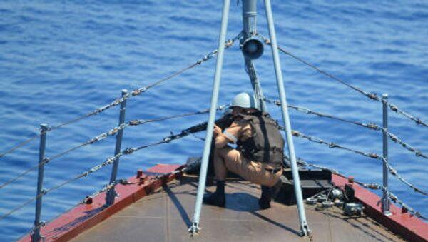 Rusia y China realizan maniobras navales en el Mediterráneo - Sputnik Mundo