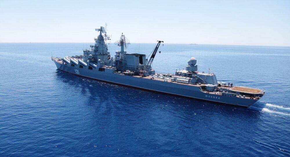 Crucero portamisiles Moskvá (archivo)