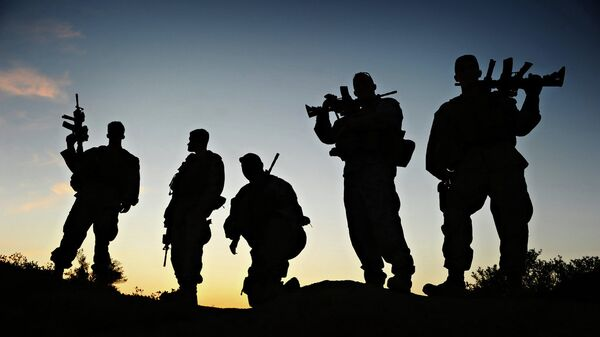 Soldados de EEUU en Afganistán (archivo) - Sputnik Mundo