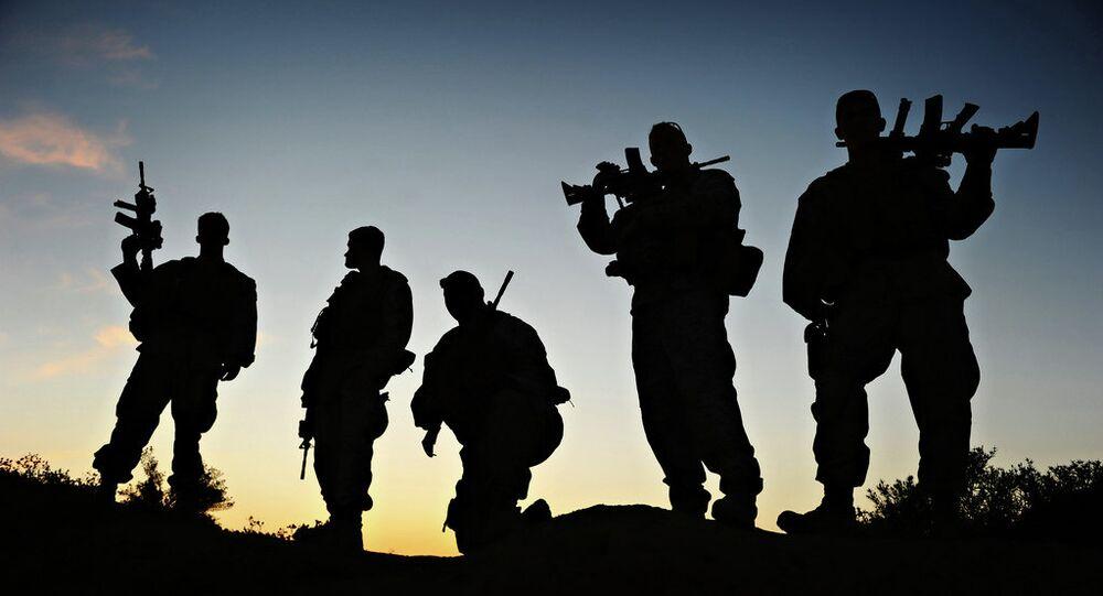 Soldados de EEUU en Afganistán (archivo)