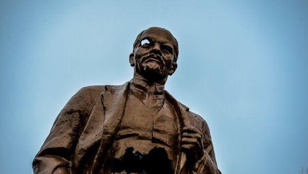 Monumento a Lenin en Shajtersk (archivo) - Sputnik Mundo