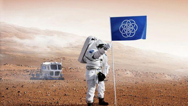 Bandera del planeta Tierra - Sputnik Mundo