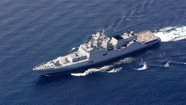 Фрегат ВМС Индии F40 «Talwar» - Sputnik Mundo