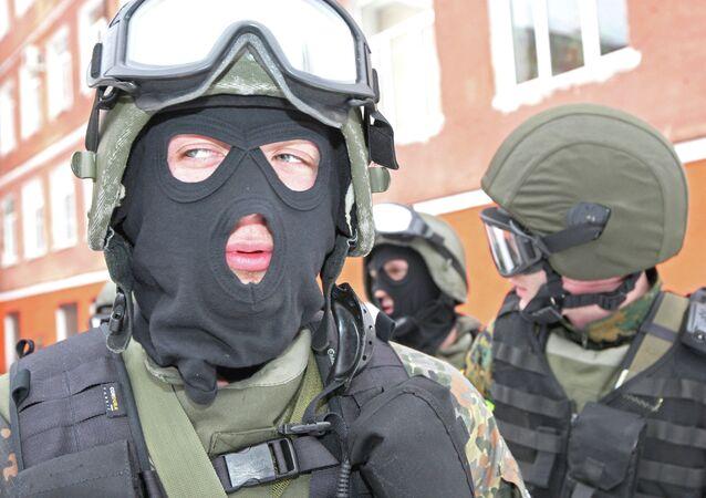 Grupo de operaciones especiales de Rusia (archivo)