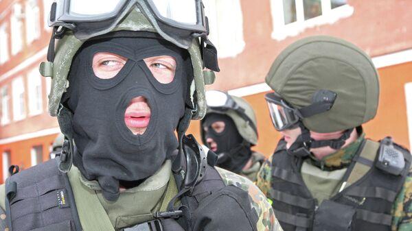 Juegos militares antiterroristas de los grupos de operaciones especiales de Rusia (archivo) - Sputnik Mundo
