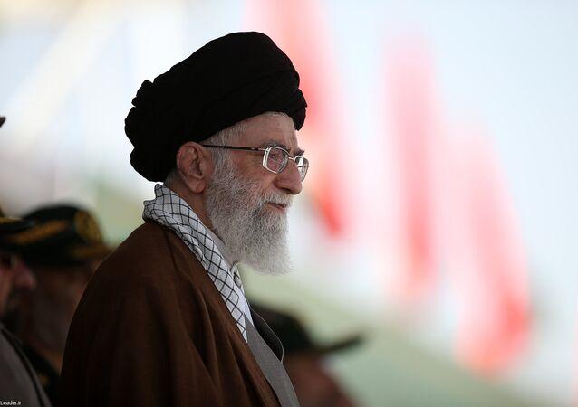 Ayatolá Alí Jameneí, líder supremo de Irán (archivo)