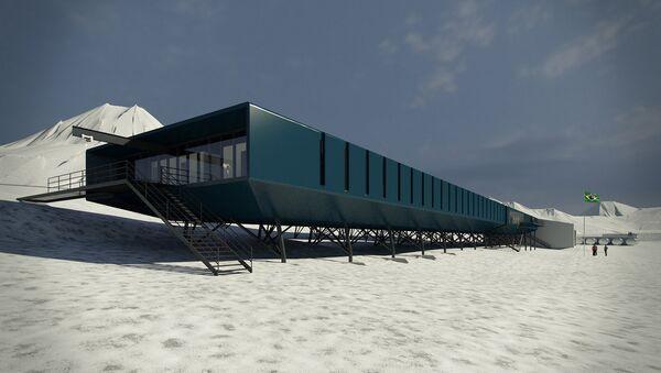 Estación Antártica Comandante Ferraz (EAFC) - Sputnik Mundo