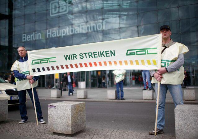 Trabajadores de Deutche Bahn anuncian su huelga