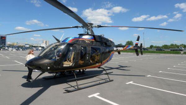 Helicóptero Bell 407 GX - Sputnik Mundo