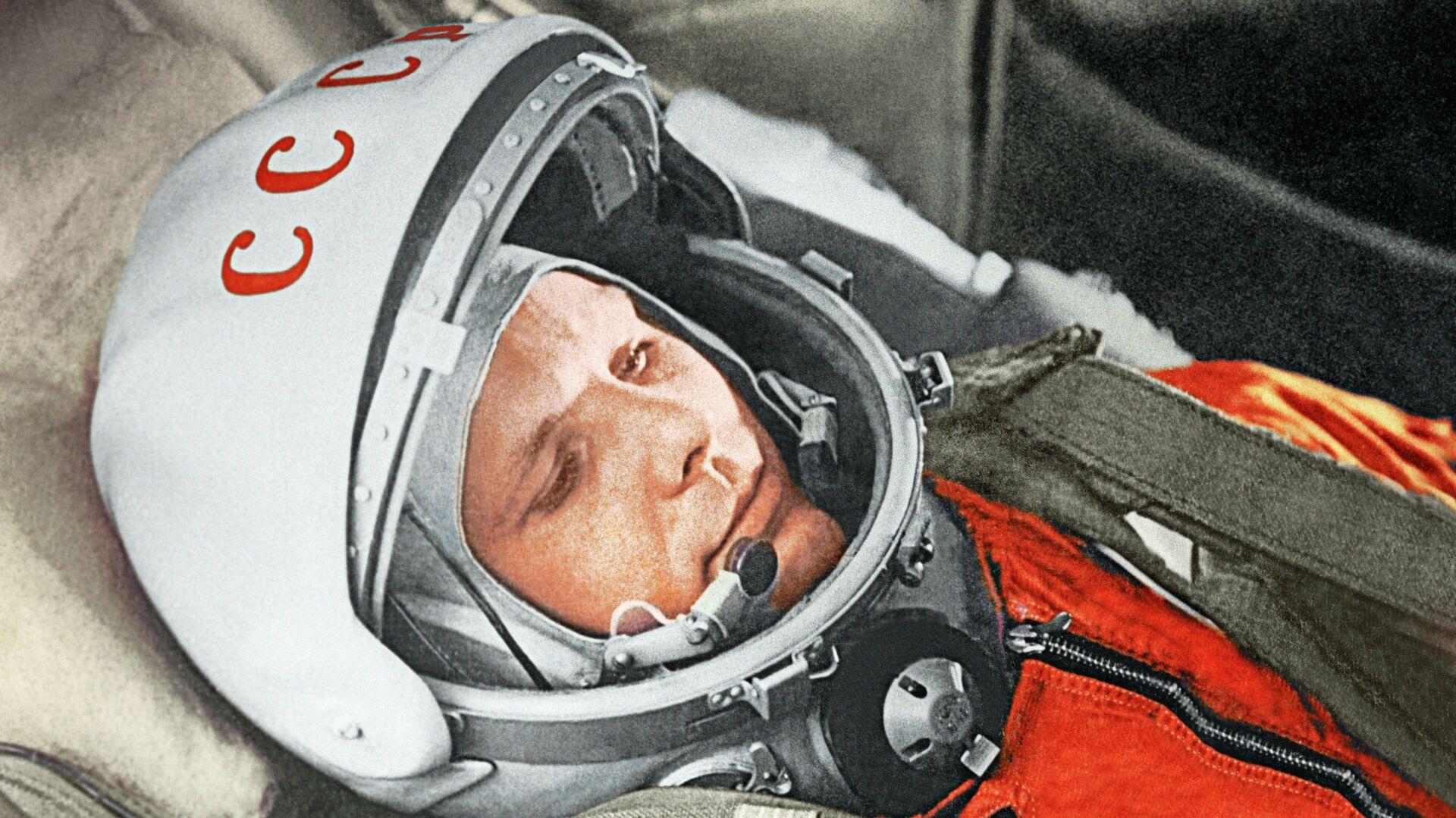 Yuri Gagarin, Gagarin, justo antes de ser el primer humano en alcanzar el cosmos, 12 de abril de 1961 - Sputnik Mundo, 1920, 12.04.2021
