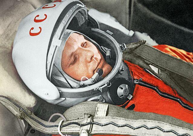 Yuri Gagarin, primer cosmonauta del mundo