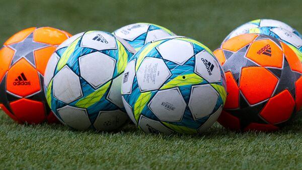 Los balones de fútbol - Sputnik Mundo