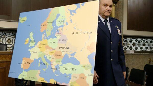 Philip Breedlove, comandante supremo de la OTAN en Europa - Sputnik Mundo