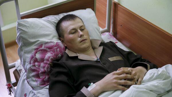 Alexandr Alexandrov, uno de los rusos detenidos en Donbás - Sputnik Mundo