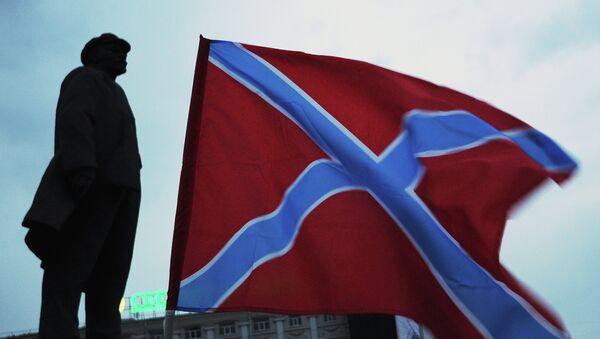 Bandera de Novorrusia - Sputnik Mundo