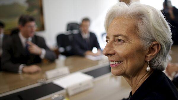 Christine Lagarde, directora gerente del Fondo Monetario Internacional (FMI) - Sputnik Mundo