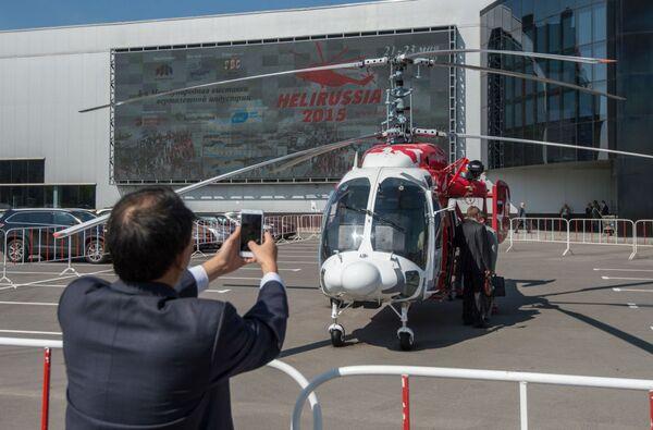 HeliRussia 2015: todas las novedades de la feria de helicópteros en Moscú - Sputnik Mundo