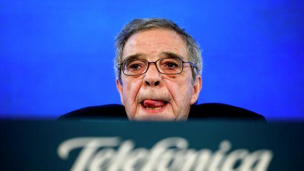 Presidente de Telefónica, César Alierta - Sputnik Mundo