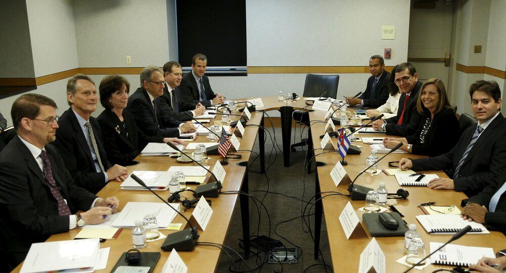 Negociaciones Cuba-EEUU en Washington