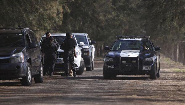 Policía federal de México en el estado de Michoacán - Sputnik Mundo