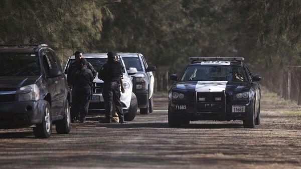 Policía federal de México  - Sputnik Mundo