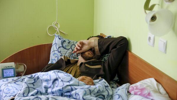 Uno de los dos soldados rusos detenidos recientemente por las fuerzas ucranianas - Sputnik Mundo