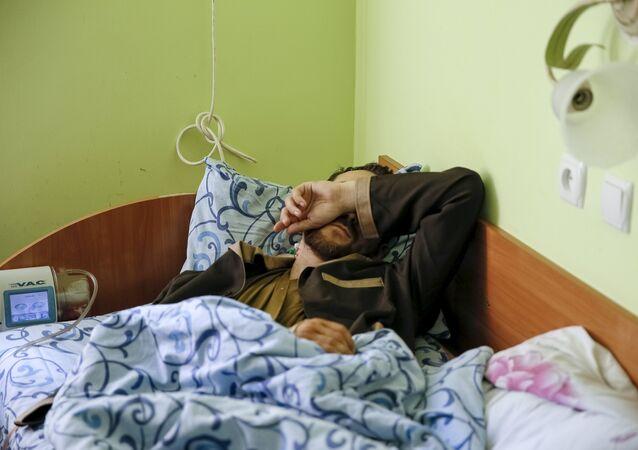 Uno de los dos soldados rusos detenidos recientemente por las fuerzas ucranianas