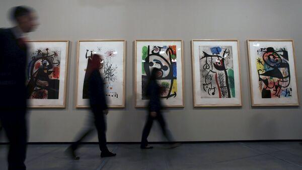 Exposición del artista español Joan Miró - Sputnik Mundo