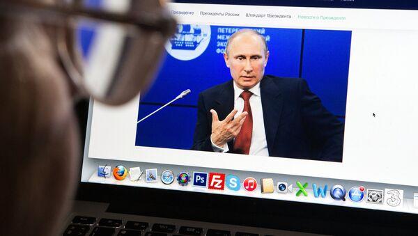 Запущена новая версия сайта президента России - Sputnik Mundo