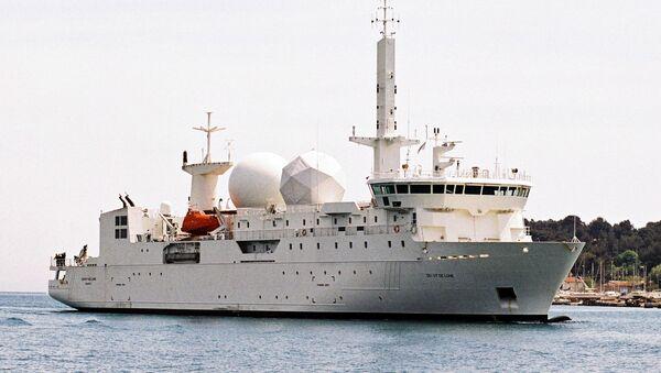 Dupuy de Lome, buque de inteligencia de la Armada de Francia - Sputnik Mundo
